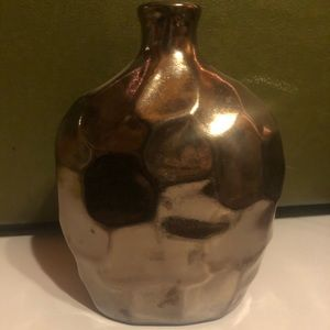 Bronze Hammered Vase (several available)